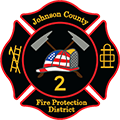 Johnson County Fire Protection District 2 Logo